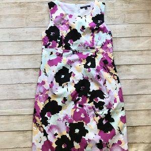 NWOT Chadwicks Sleeveless Flower Dress Size 12